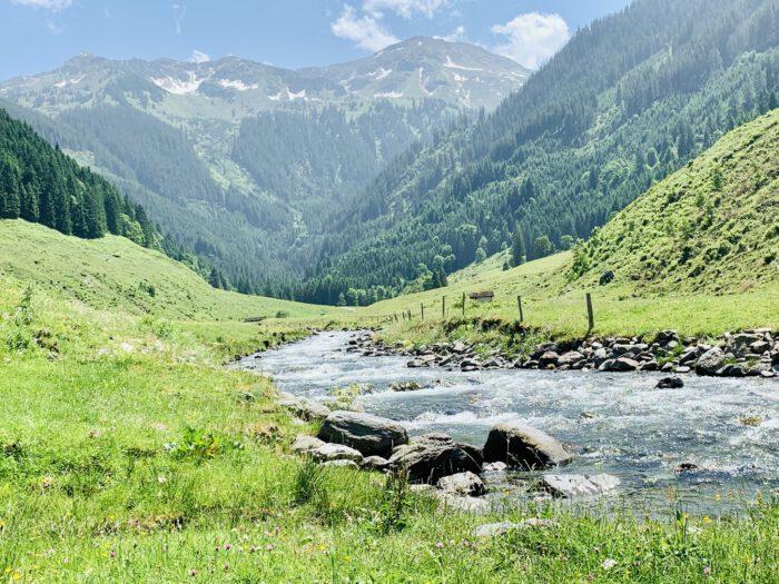 Kelchsauer Ache in der Ferienregion Hohe Salve in den Kitzbüheler Alpen